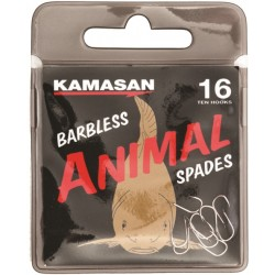 ANIMAL SPADE BARBED 10 UDS.