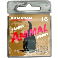 ANIMAL SPADE BARBED 10 UDS.